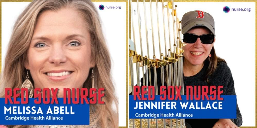 CHA Nurses Honored by the Red Sox