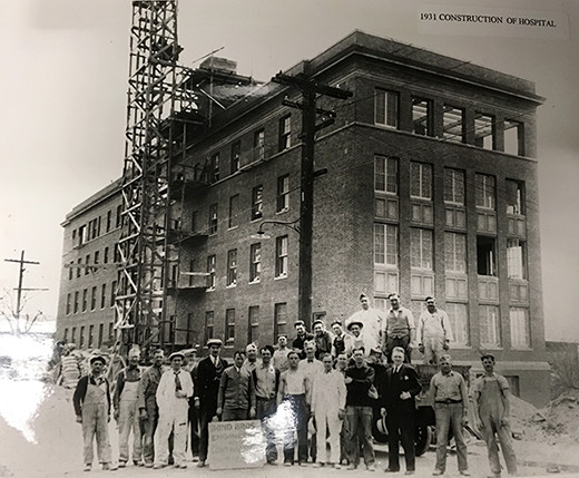 1931 Construction of the Hospital