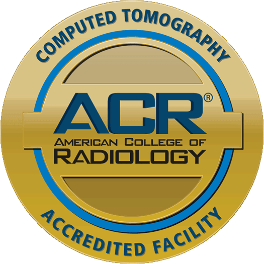 ACR Computed Tomography Accreditation Seal