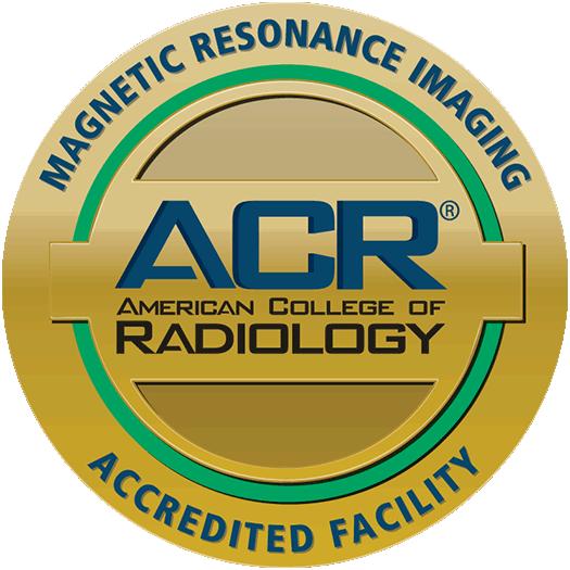 ACR Magnetic Resonance Imaging Accreditation Seal